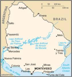 Rivera - Map